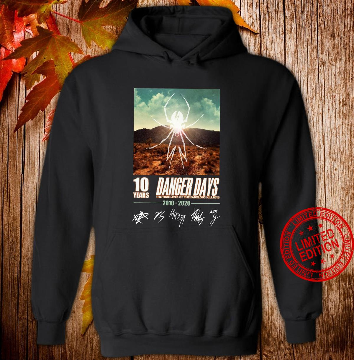 10 years Dancer days the true lives of the fabulous killjoys 2010 2020 shirt hoodie