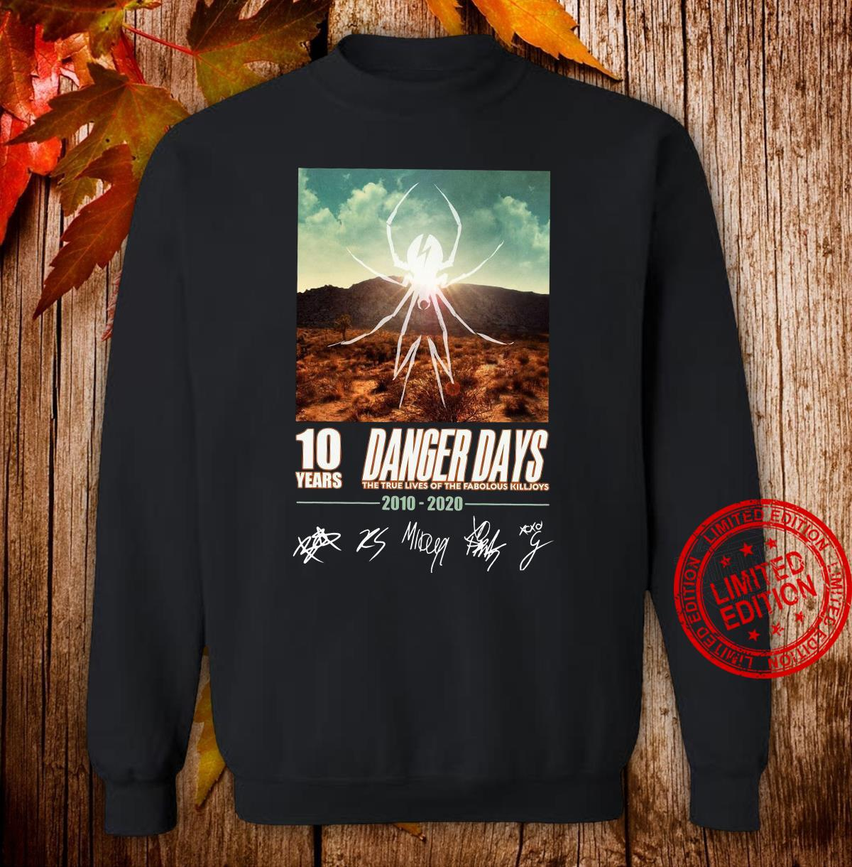 10 years Dancer days the true lives of the fabulous killjoys 2010 2020 shirt sweater
