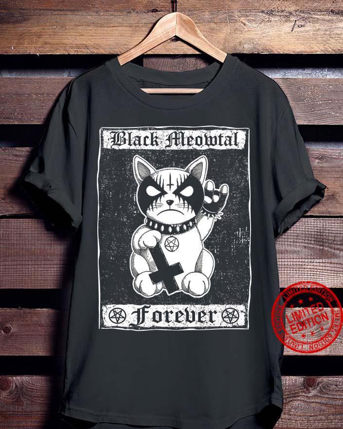 Black Meowtal Forever Shirt
