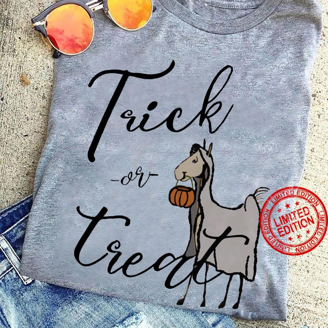 Donkey Trick Or Treat Shirt