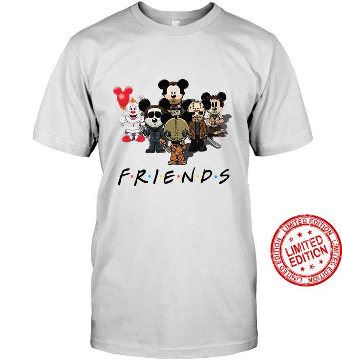 Horror Mickey Friends Shirt