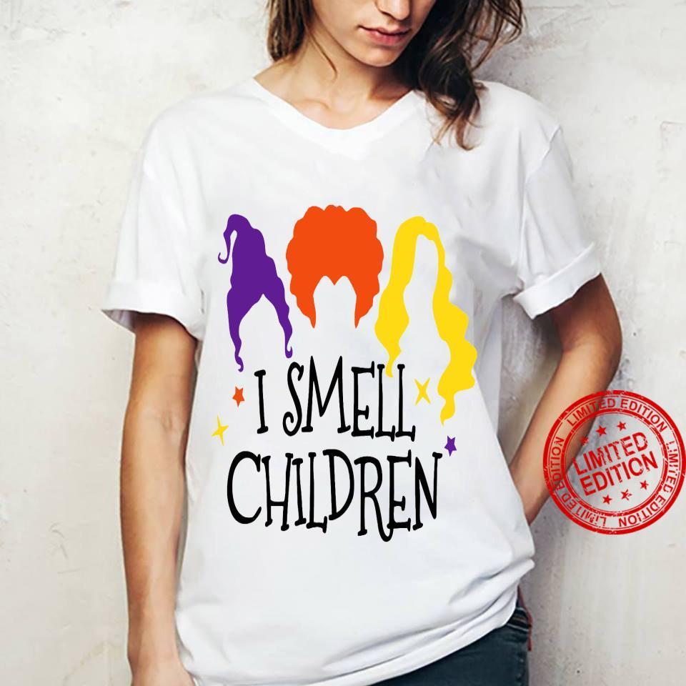 I Smell Chilren Shirt ladies tee