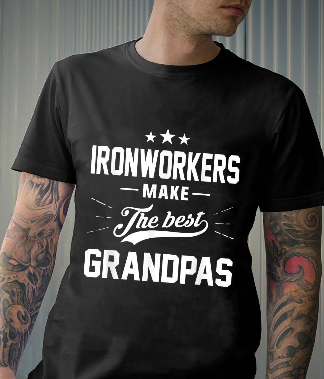 Ironworker Grandpa, Iron Worker Grandpa Shirt