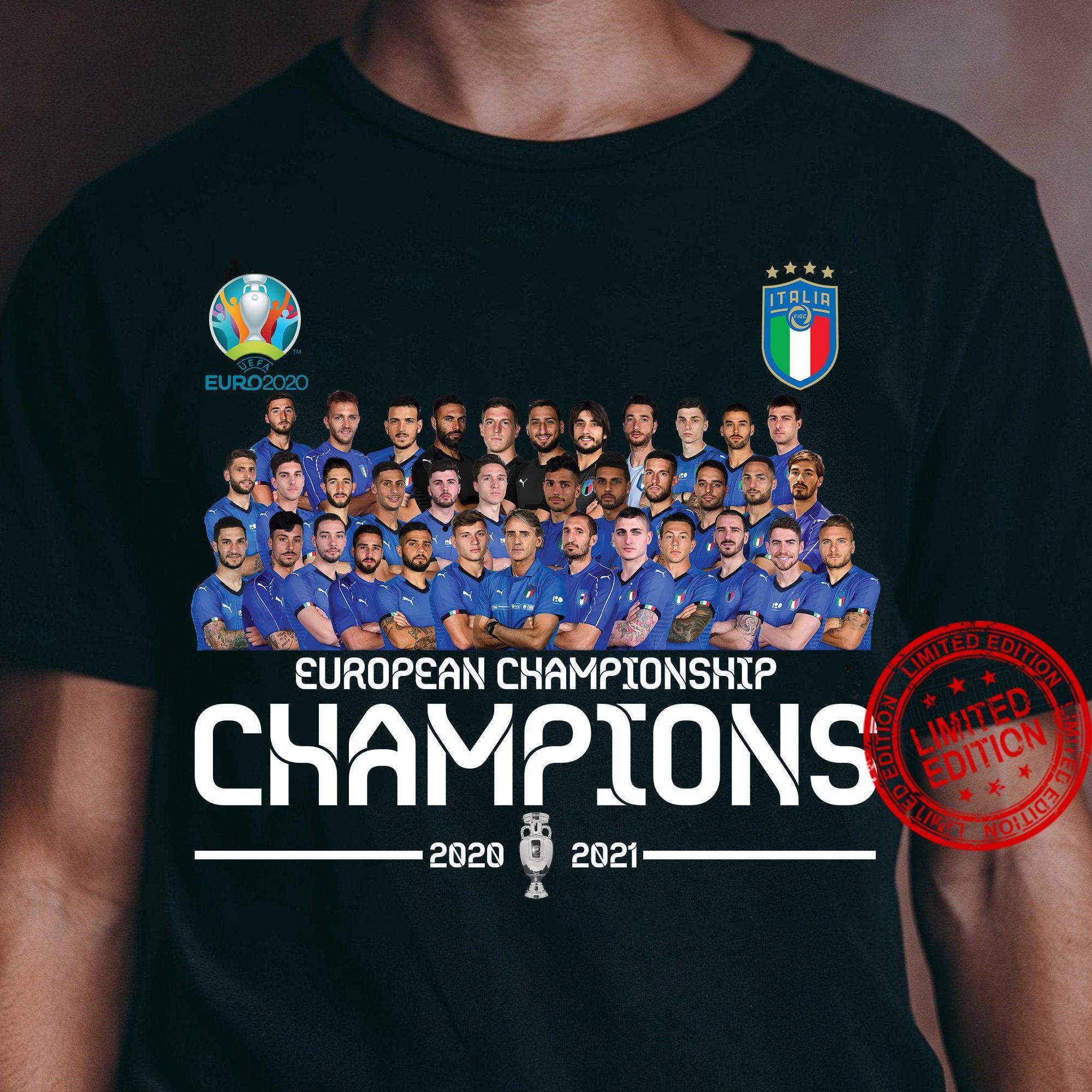 Italia Champions Euro 2020 Shirt