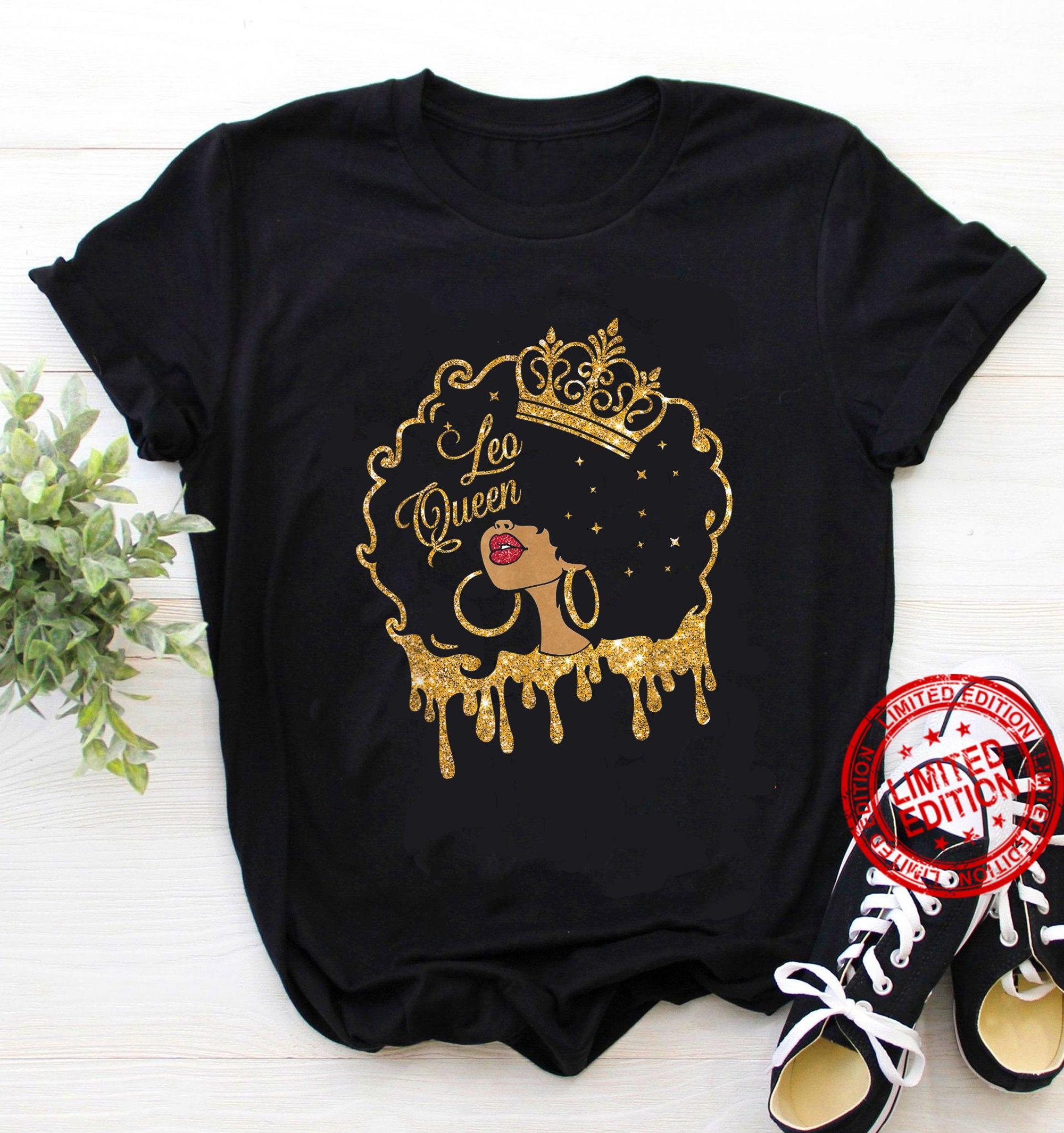 Leo Queen, Leo Birthday Shirt
