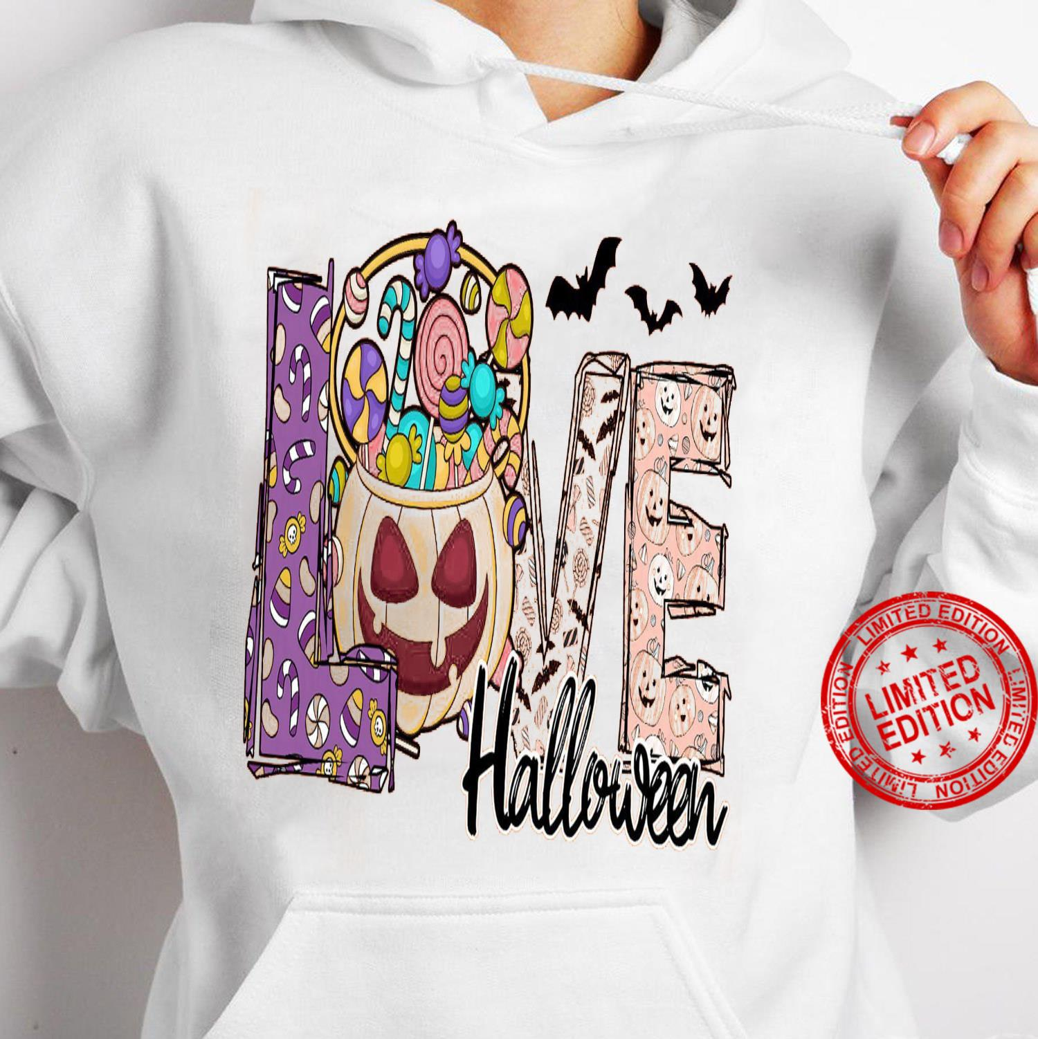 Love Halloween Shirt hoodie