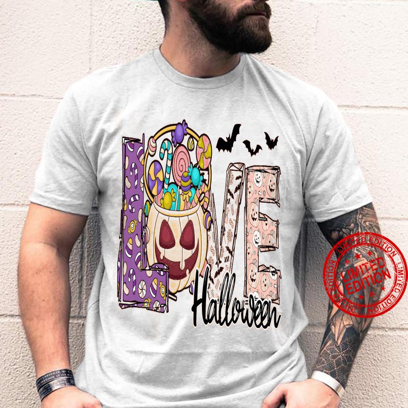 Love Halloween Shirt unisex