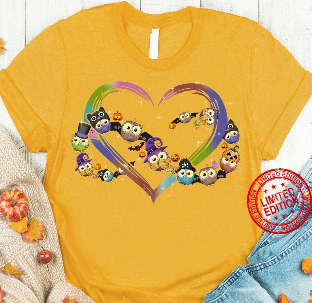 Owl Heart Shirt