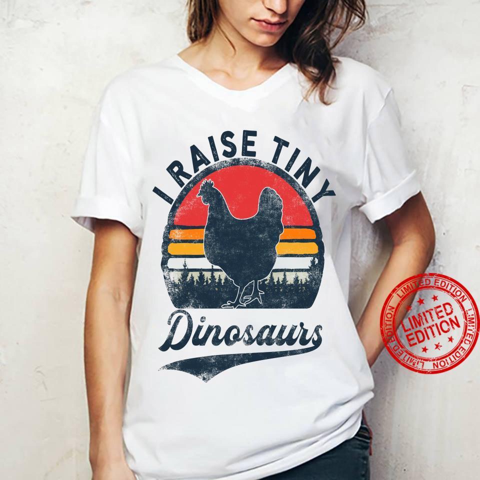 Raise Tiny Dinosaurs Shirt ladies tee