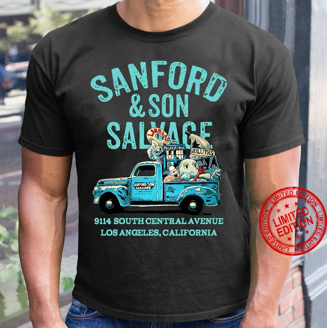 Sanford And Son Salvage 9114 South Central Avenue Los Angeles California Shirt