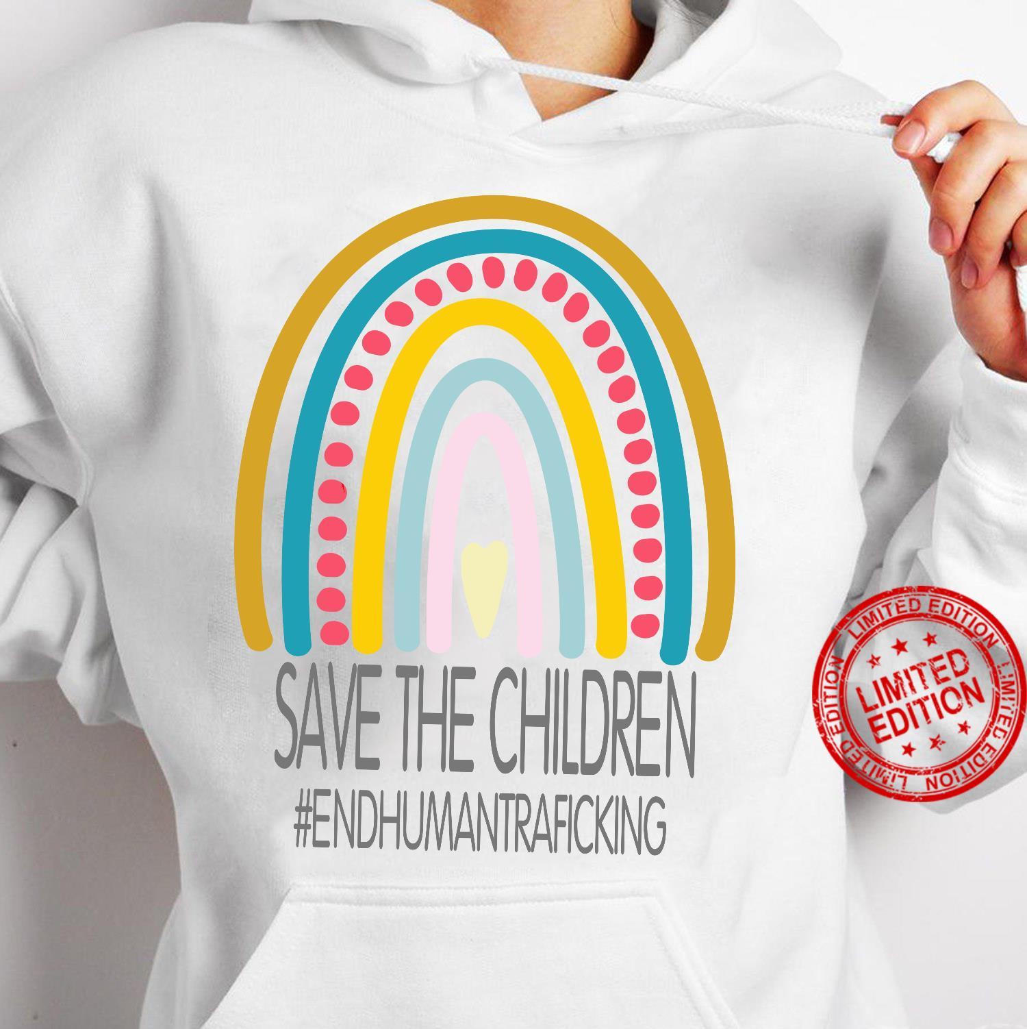 Save The Children End Human Trafficking Shirt hoodie