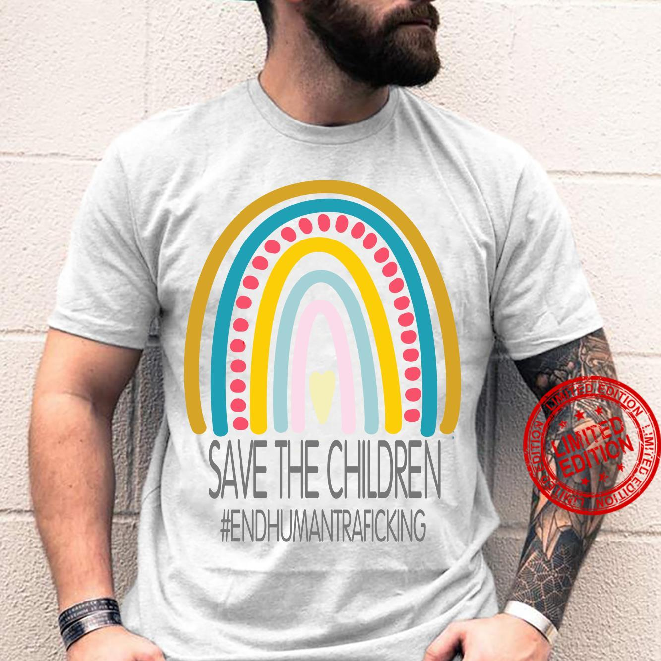 Save The Children End Human Trafficking Shirt