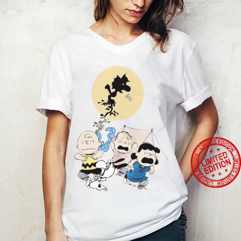 The Peanuts Boo And Friends Shirt ladies tee