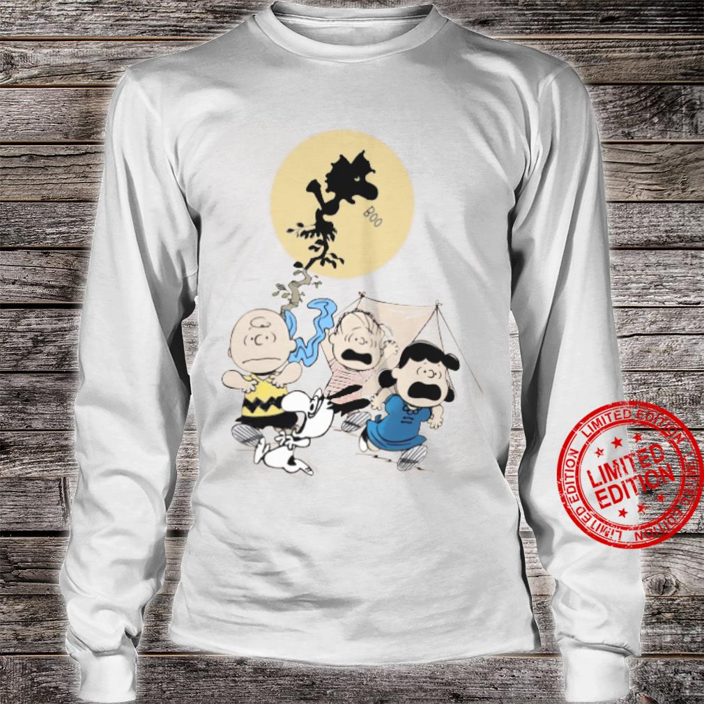The Peanuts Boo And Friends Shirt long sleeved