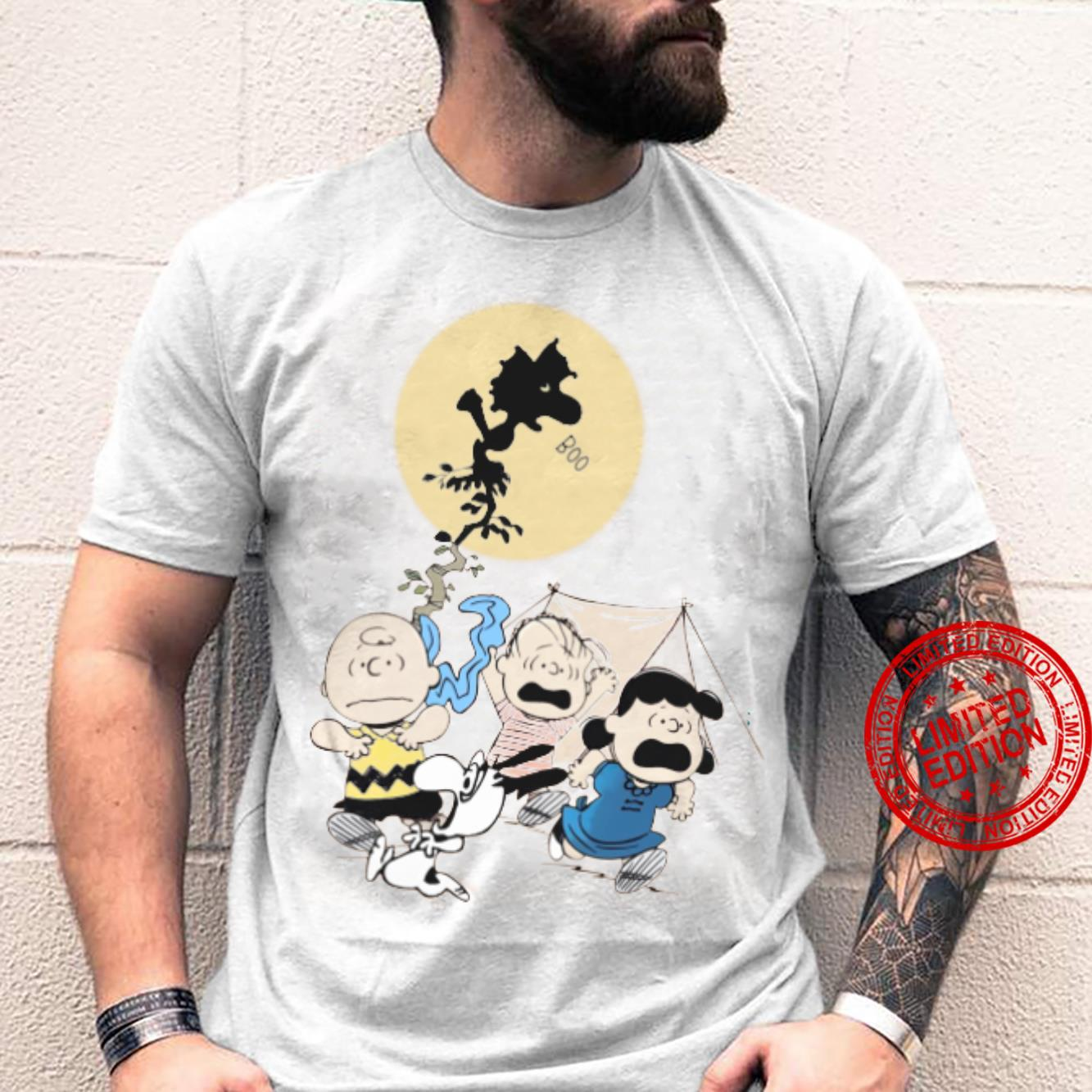 The Peanuts Boo And Friends Shirt unisex