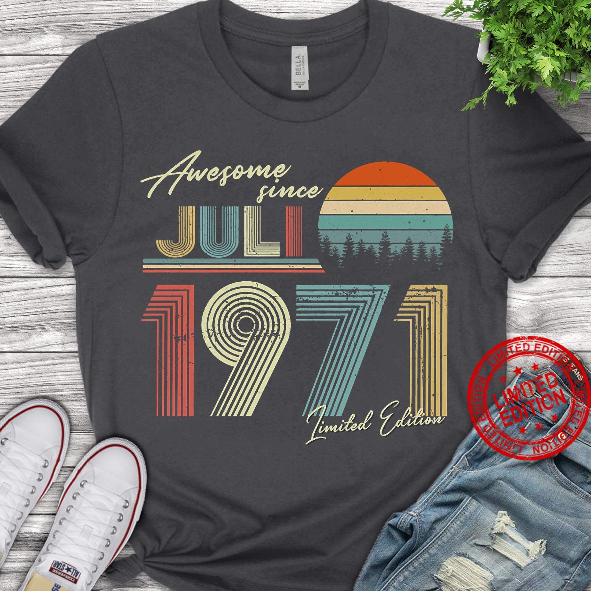 Vintage 1971 Retro Shirt