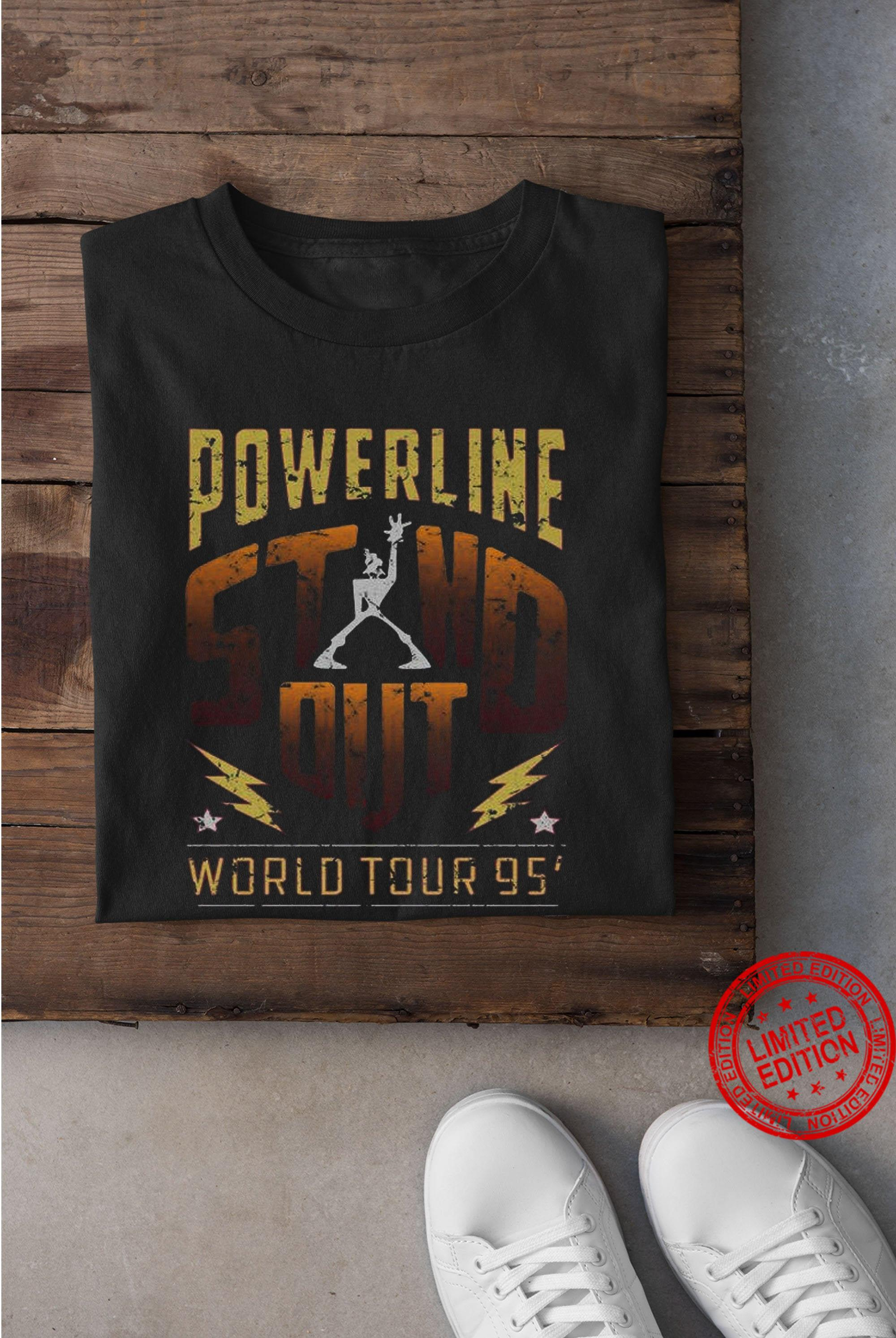Vintage A Goofy Movie Inspired Powerline Stand Out Logo Concept Inspired Shirt