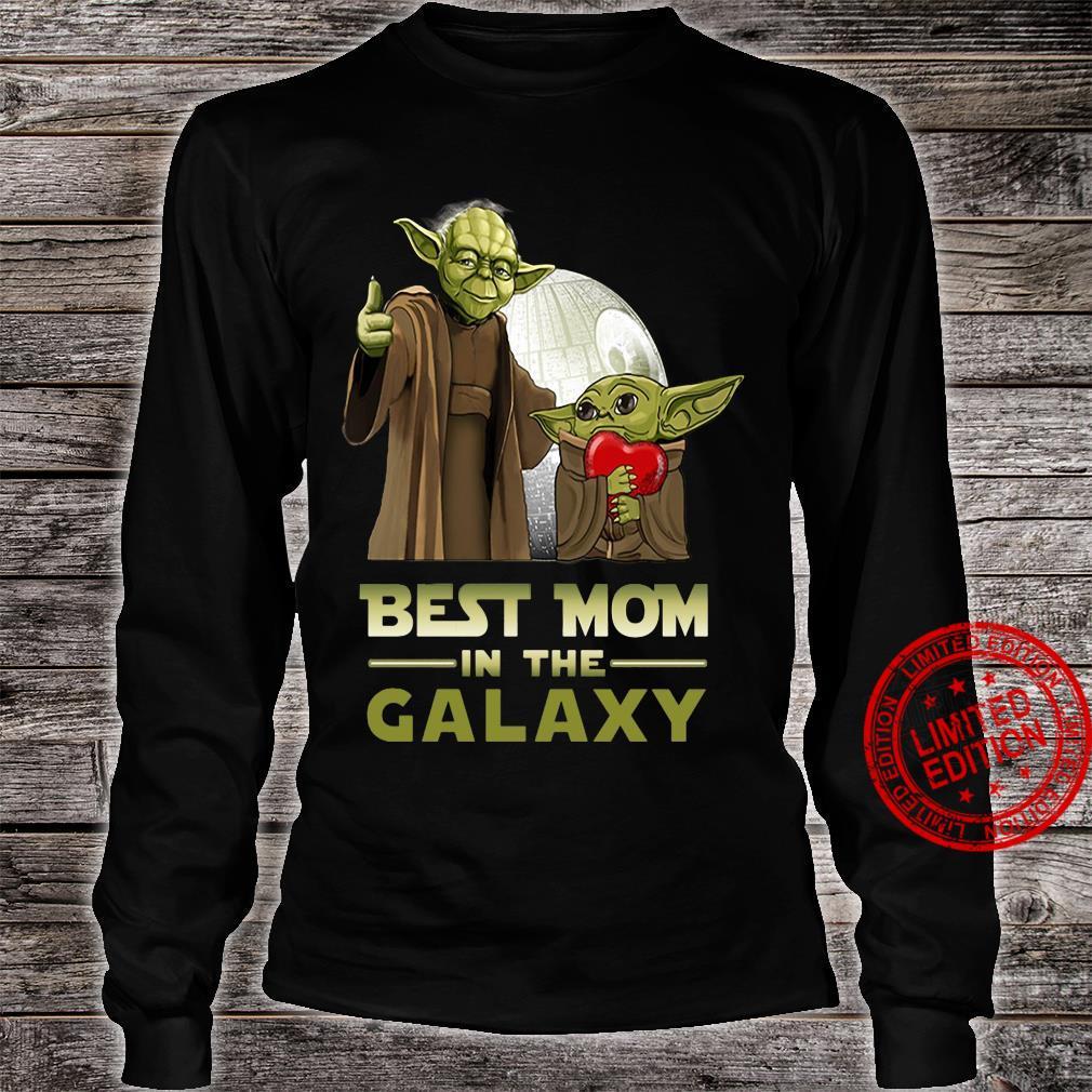 Yoda best mom in the galaxy shirt long sleeved