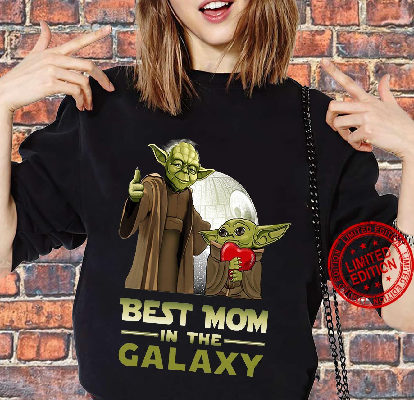 Yoda best mom in the galaxy shirt sweater