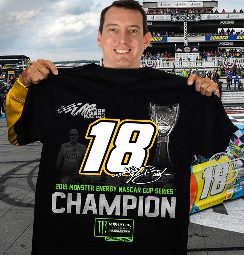 2019 Monster Energy Nascar Cup Series Champion Shirt
