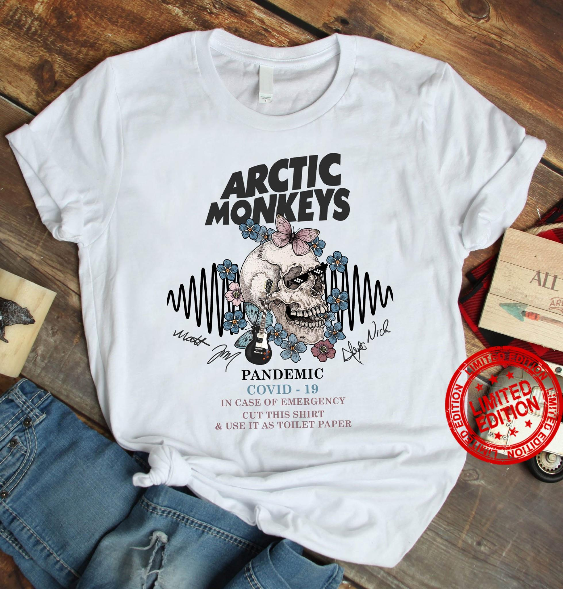 Arctic Monkeys Pandemic Covid 19 Shirt