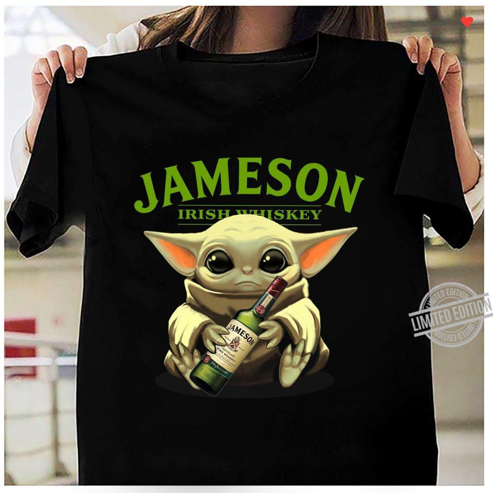 Baby Yoda Jameson Irish Whiskey Shirt