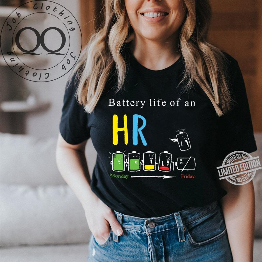 Battery Life Of An HR Monday To Friday Shirt