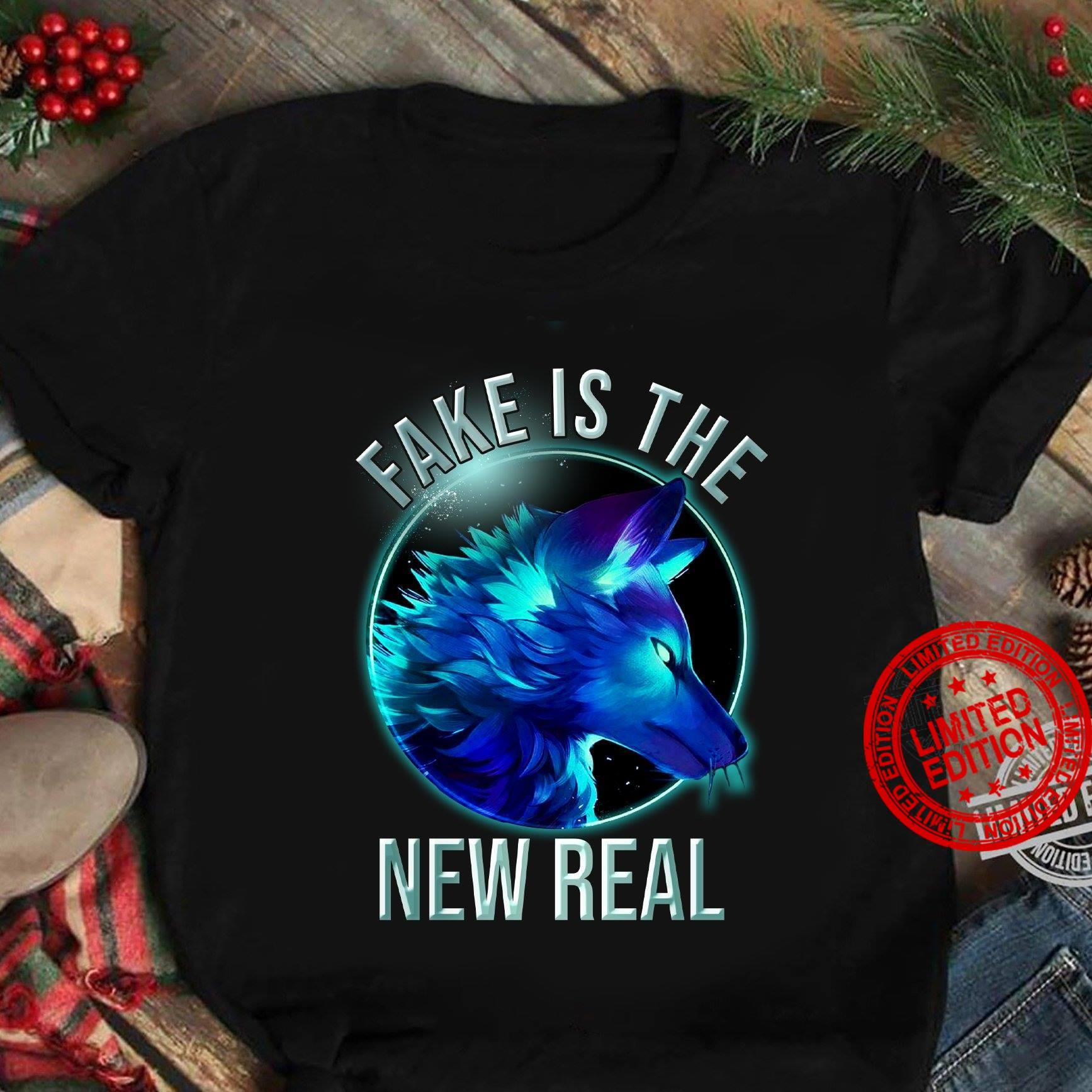 Fake Is The New Real Shirt