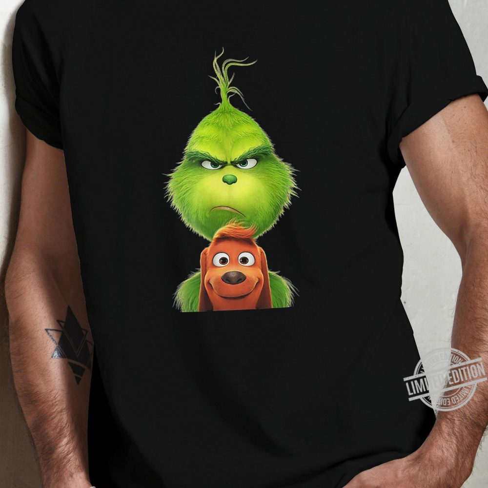 Grinch And Max Dog Shirt