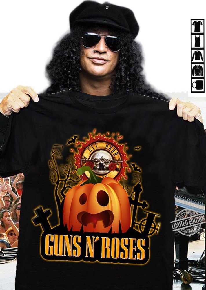 Guns N' Roses Pumpkin Shirt