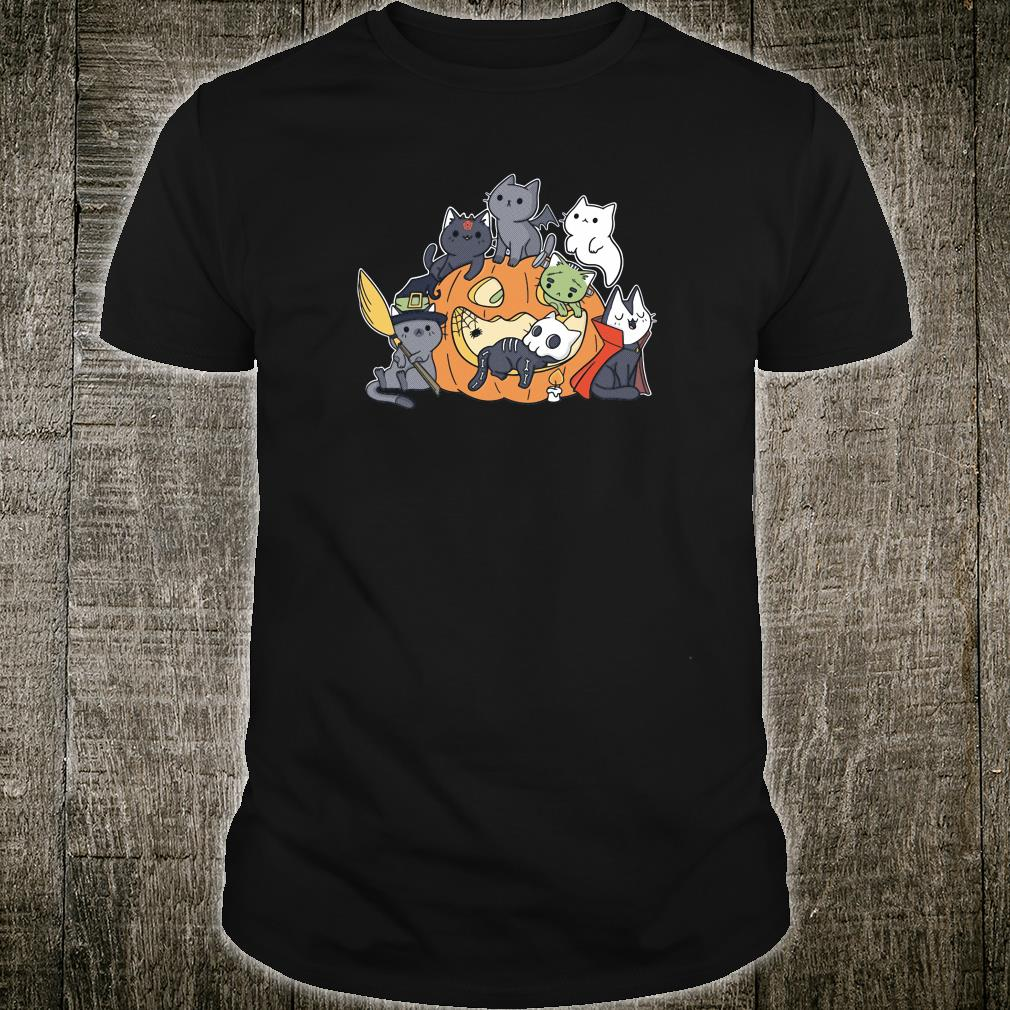 Halloween kittens shirt