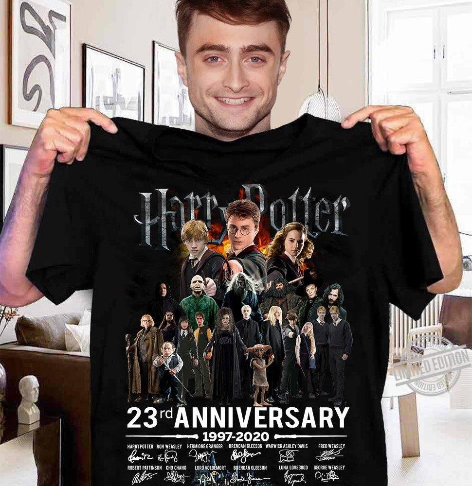 Harry Potter 23Rd Anniversary 1997-2020 Signature Shirt