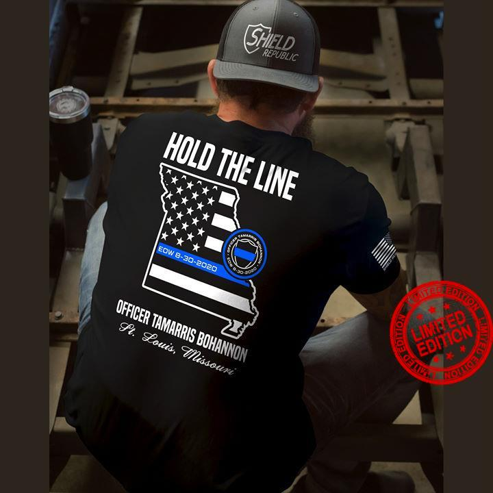 Hold The Line Officer Tamarris Bohannon Shirt