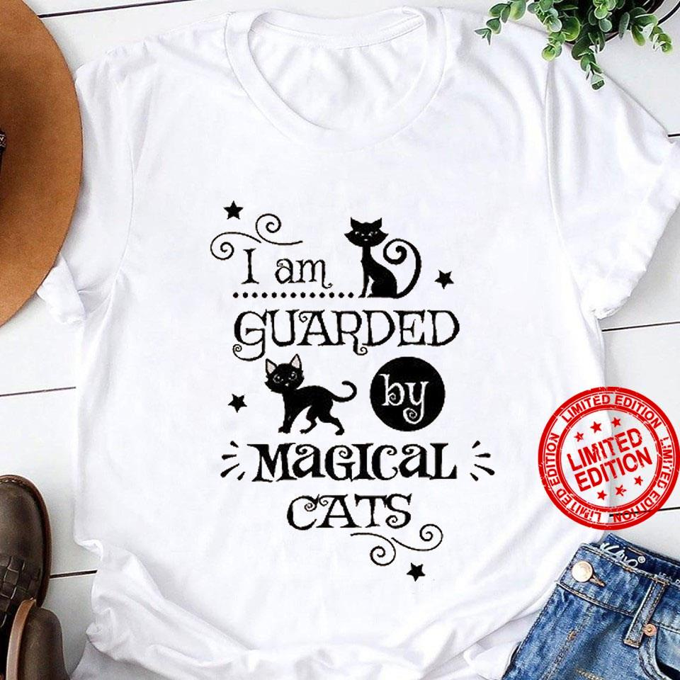 I Am Guarded Magical Cats Shirt