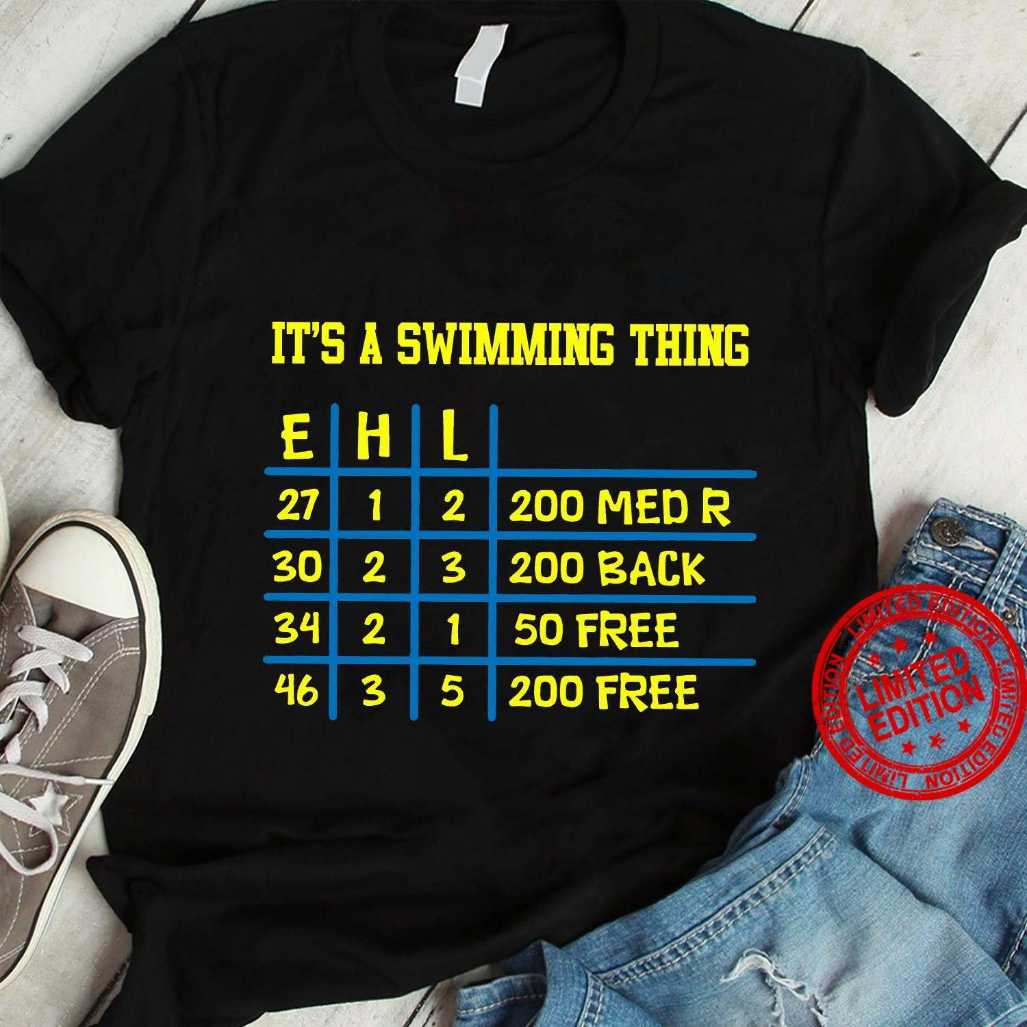 It's A Swimming Thing Shirt