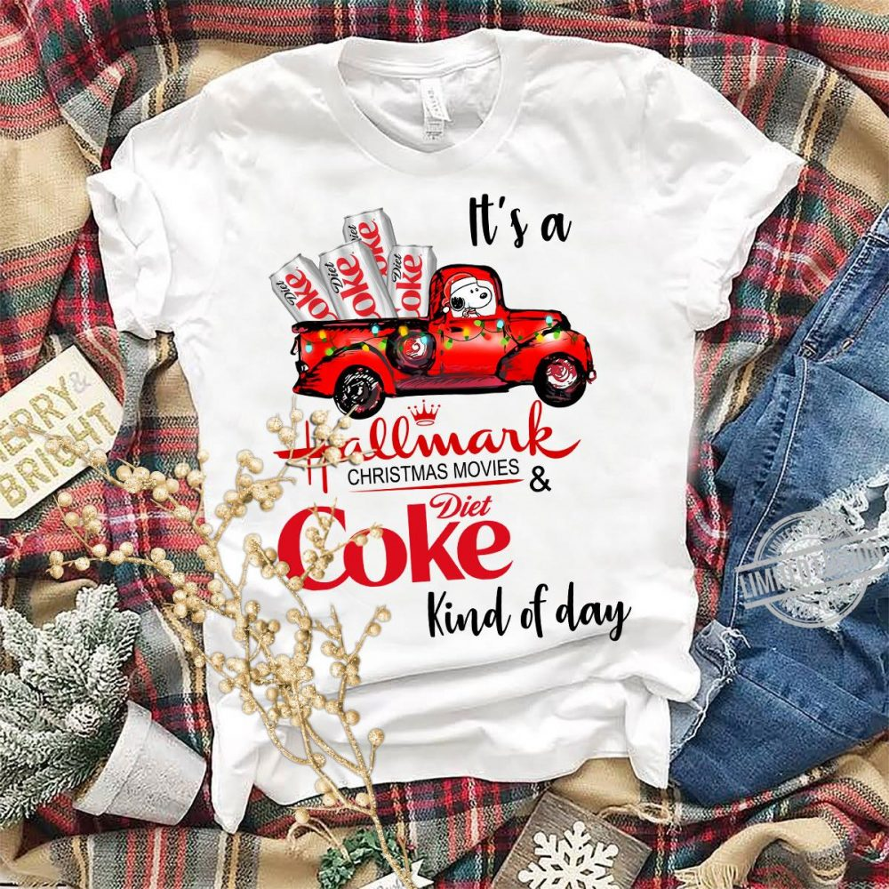 It's A hallmark Christmas Movie Diet Coke Kind Of Day Shirt
