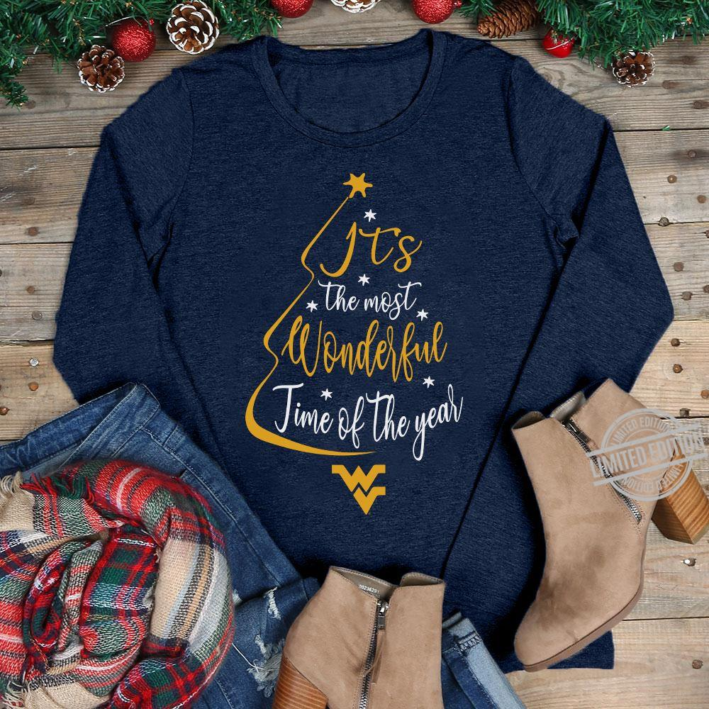 It's The Most Wonderful Time Of The Year Christmas Tree Shirt