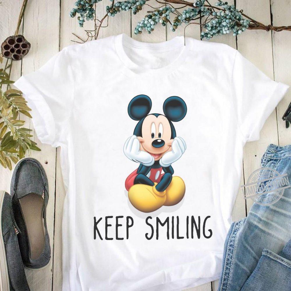 Mickey Keep Smiling Shirt