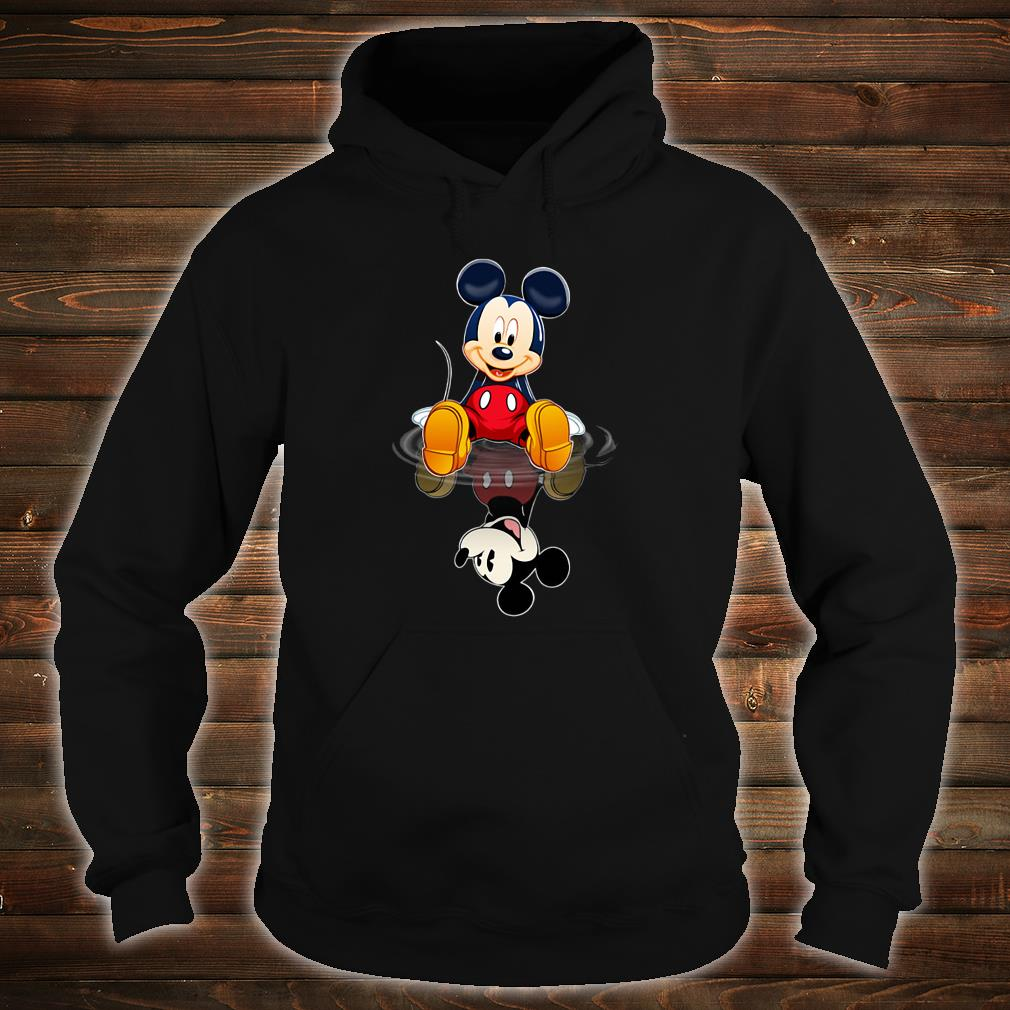 Mickey in the water shirt hoodie