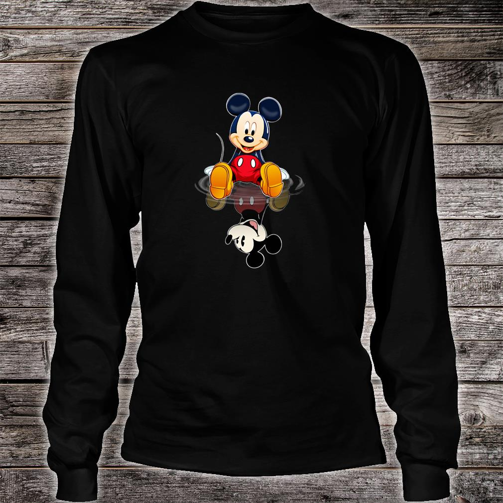 Mickey in the water shirt long sleeved