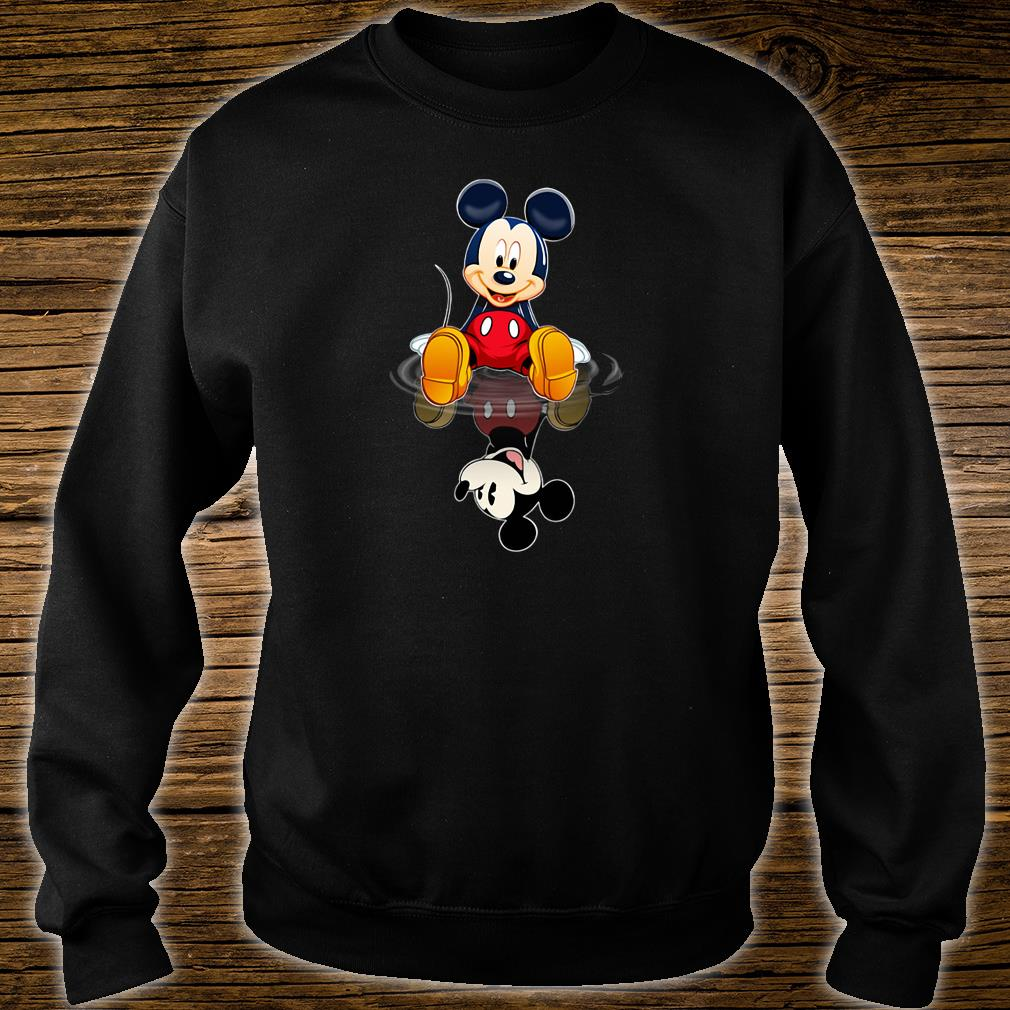 Mickey in the water shirt sweater