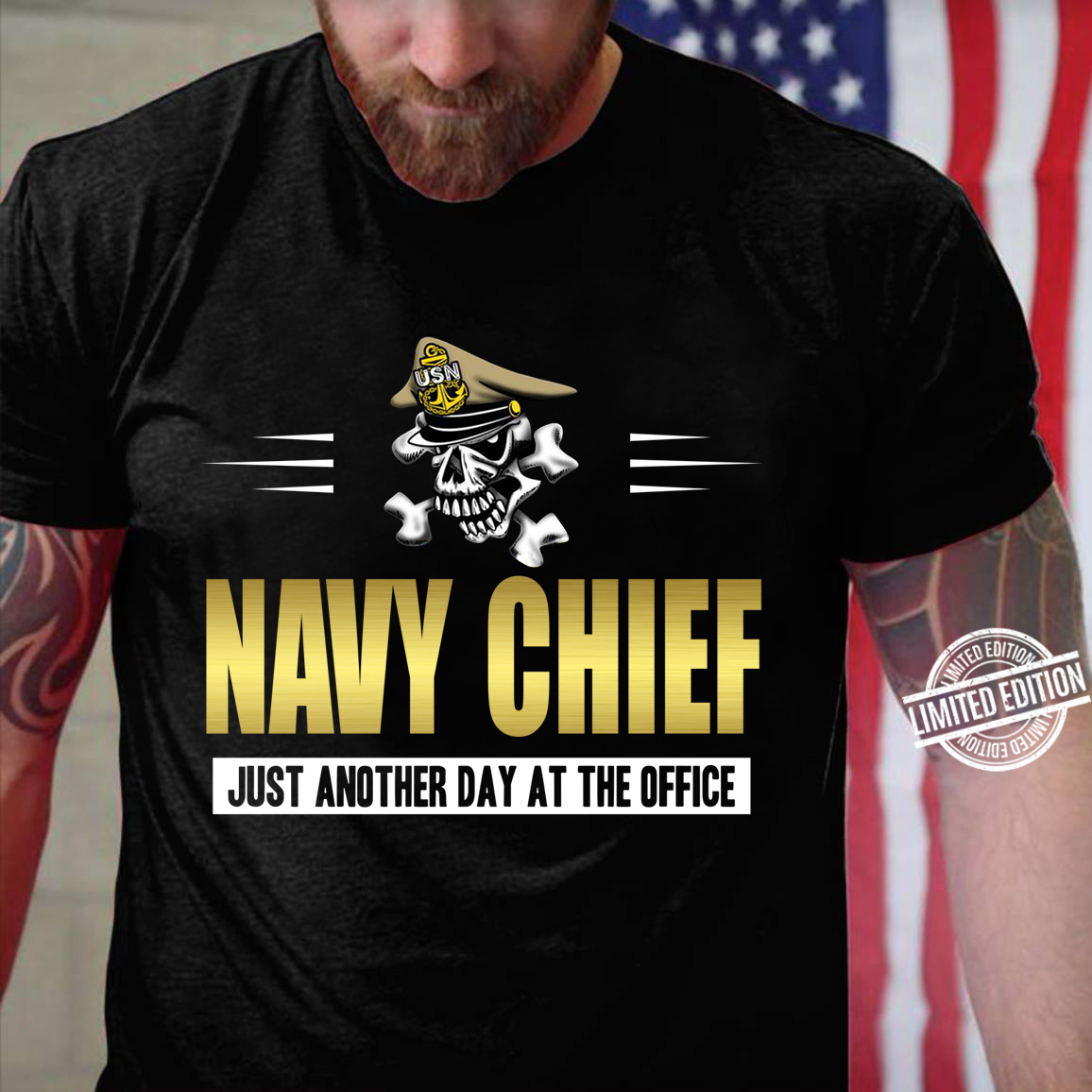 Navy Chief Just Another Day At The Office Shirt