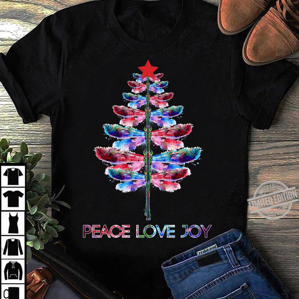 Peace Love Joy Christmas Tree Shirt