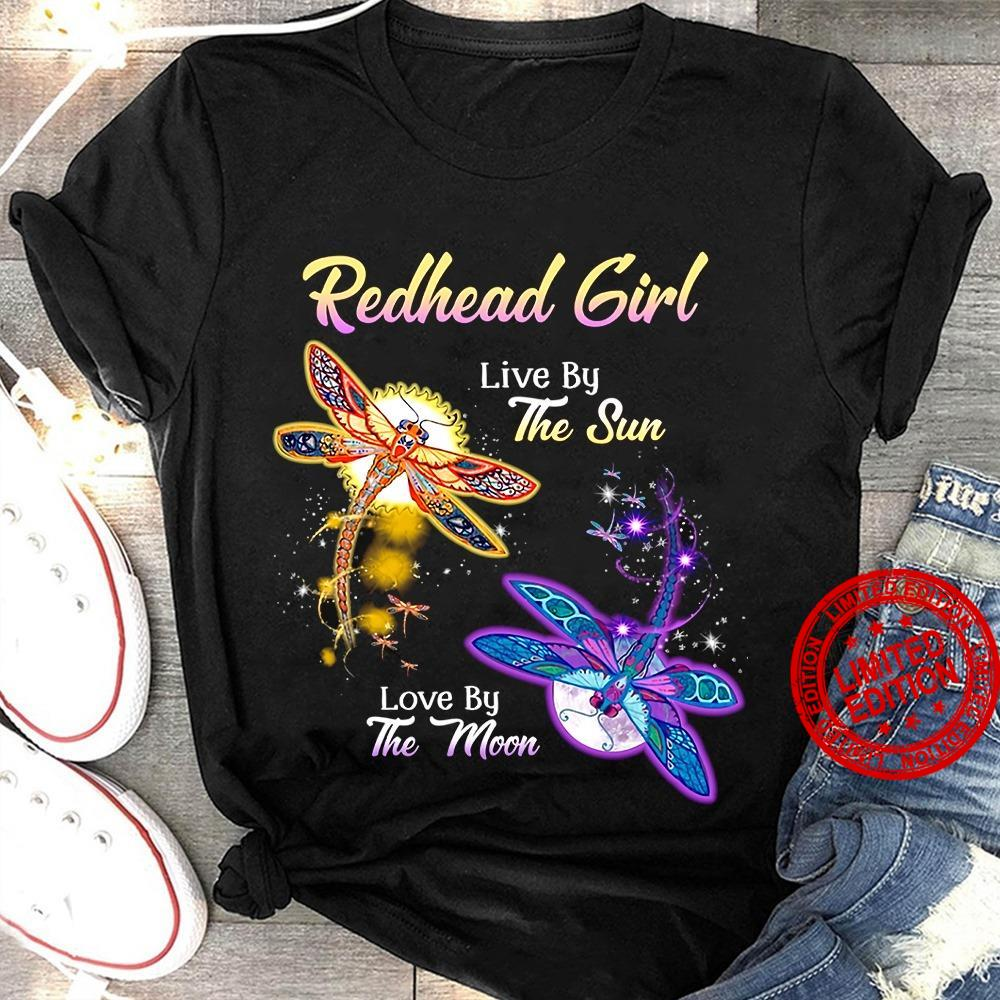 Redhead Girl Live By The Sun Love By The Mom Shirt