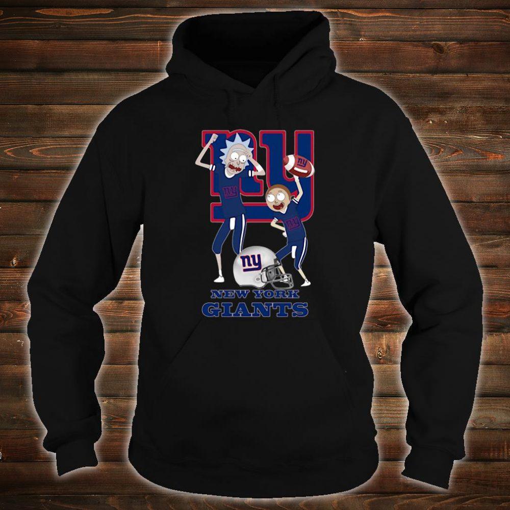 Rick and Morty New York Giants shirt hoodie