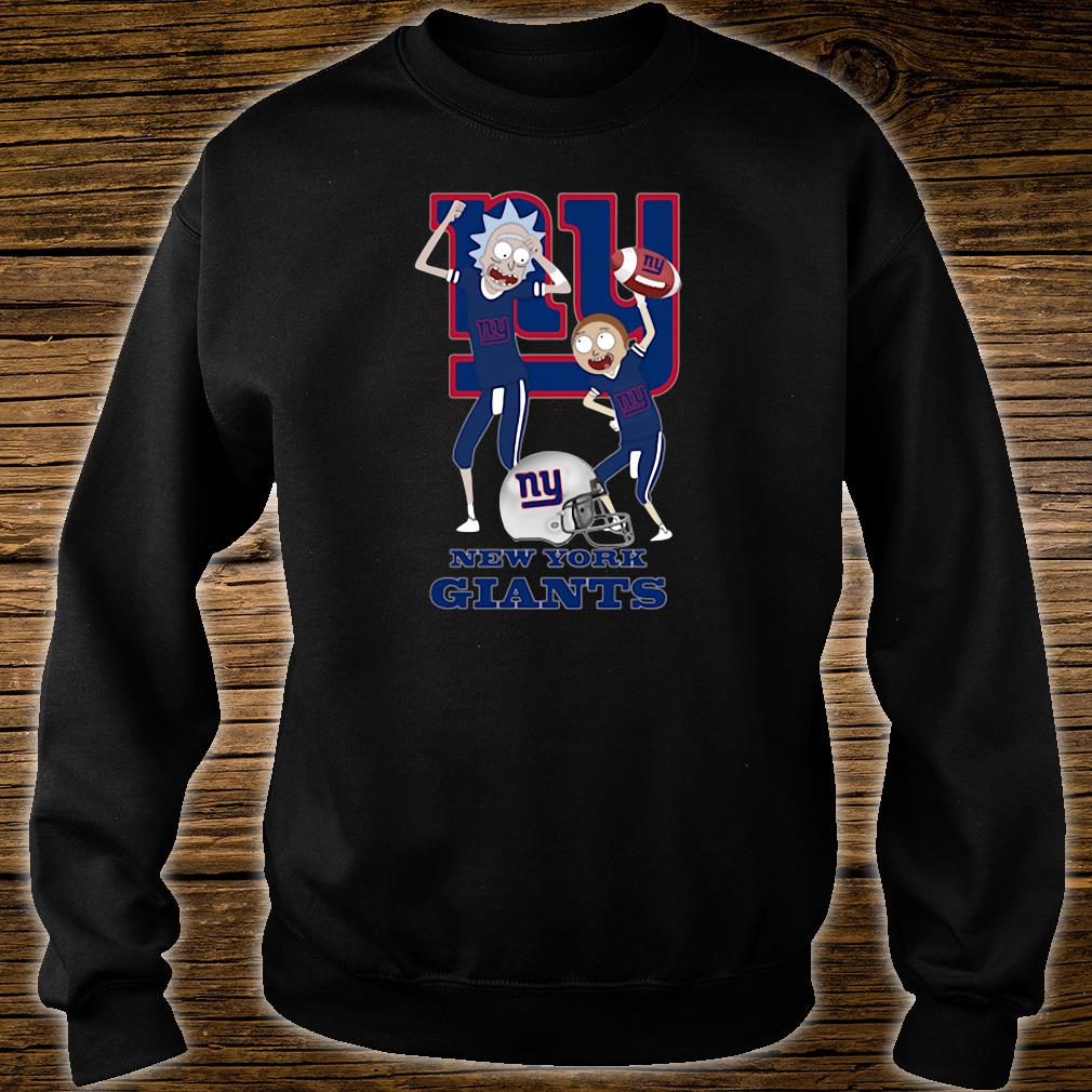Rick and Morty New York Giants shirt sweater