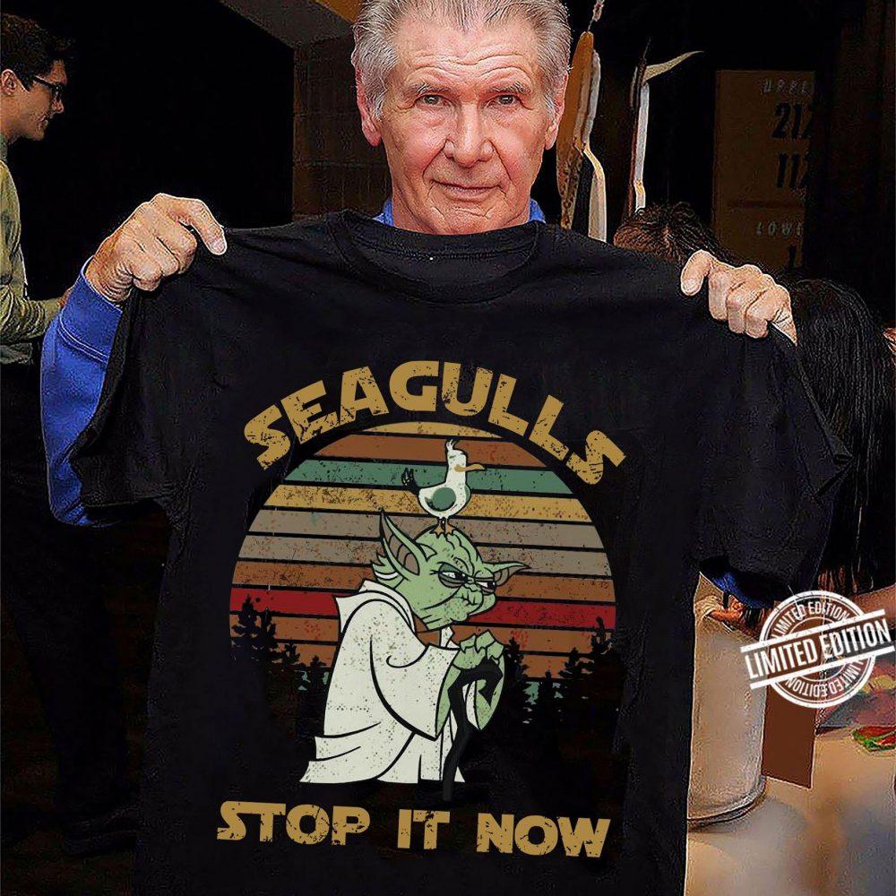 Seagulls Stop It Now Star Wars Shirt