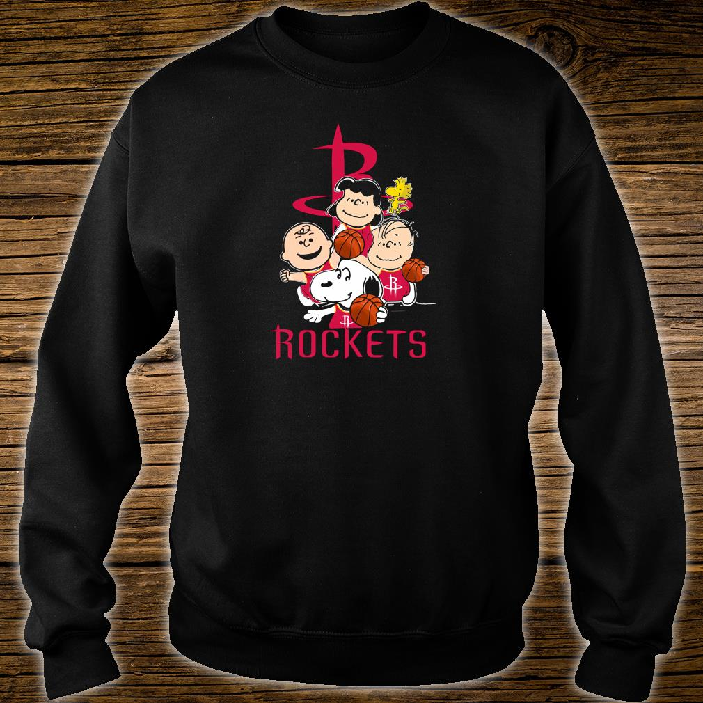 Snoopy and friends Rockets team shirt sweater
