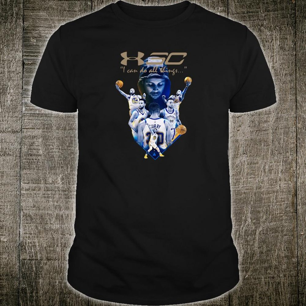 Stephen Curry I can do all thing shirt