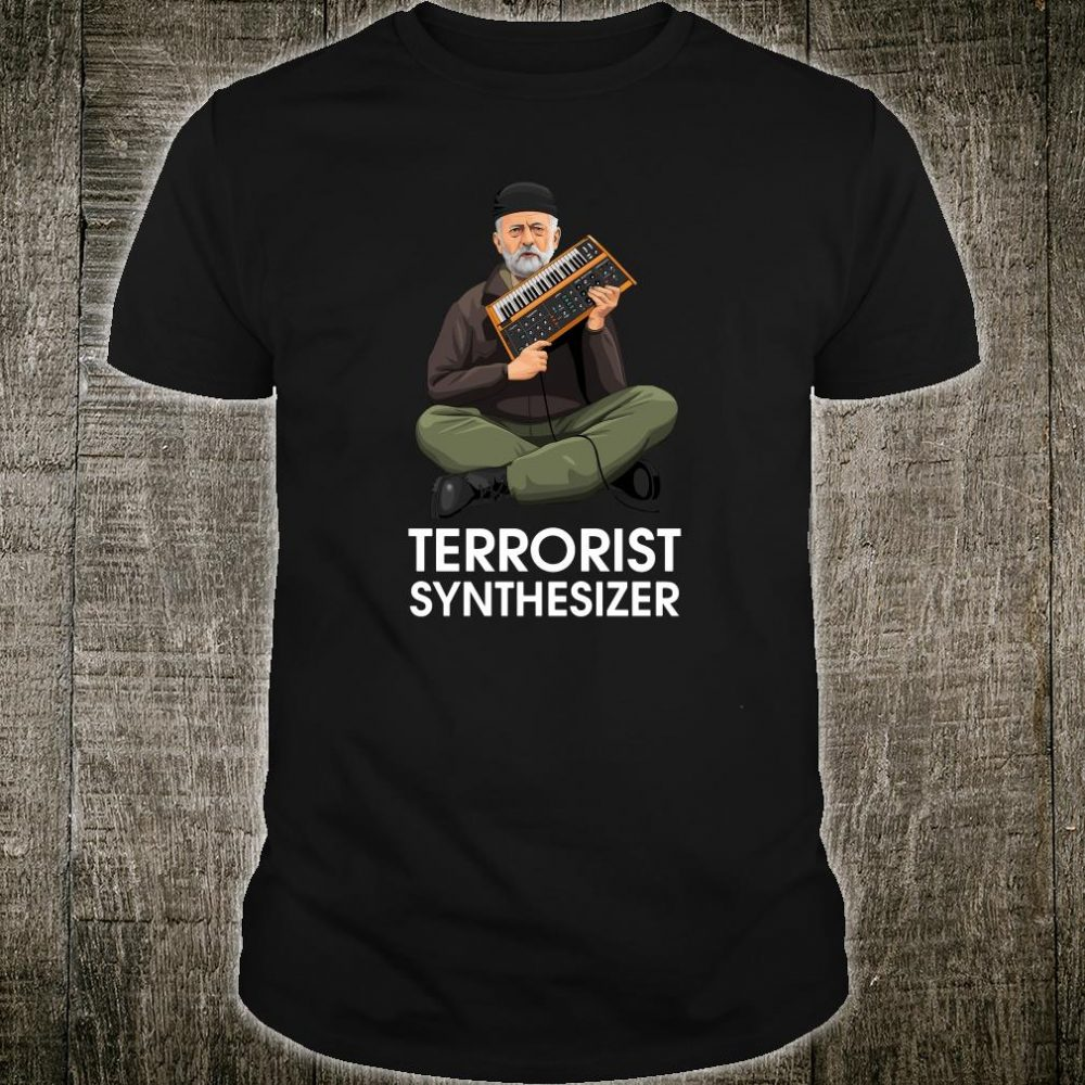 Terrorist synthesizer shirt